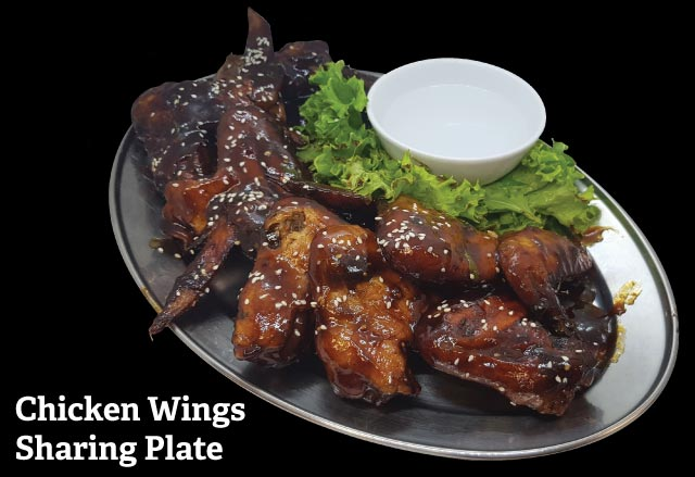 Chicken Wings Sharing Plate