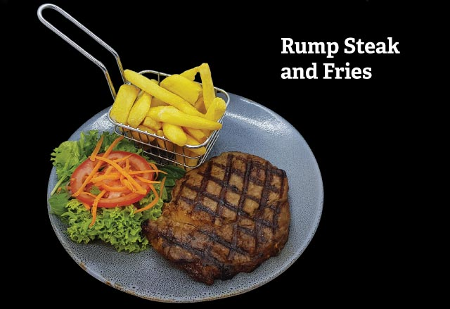 Rump Steak with Fries