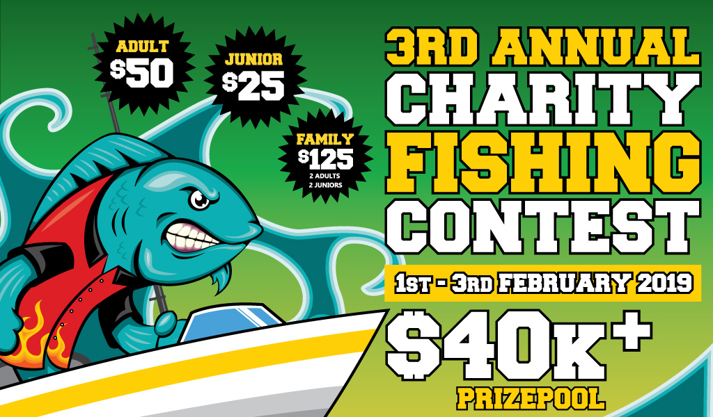 3rd Annual Charity Fishing Contest